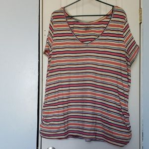 Striped Lane Bryant Tee-Shirt